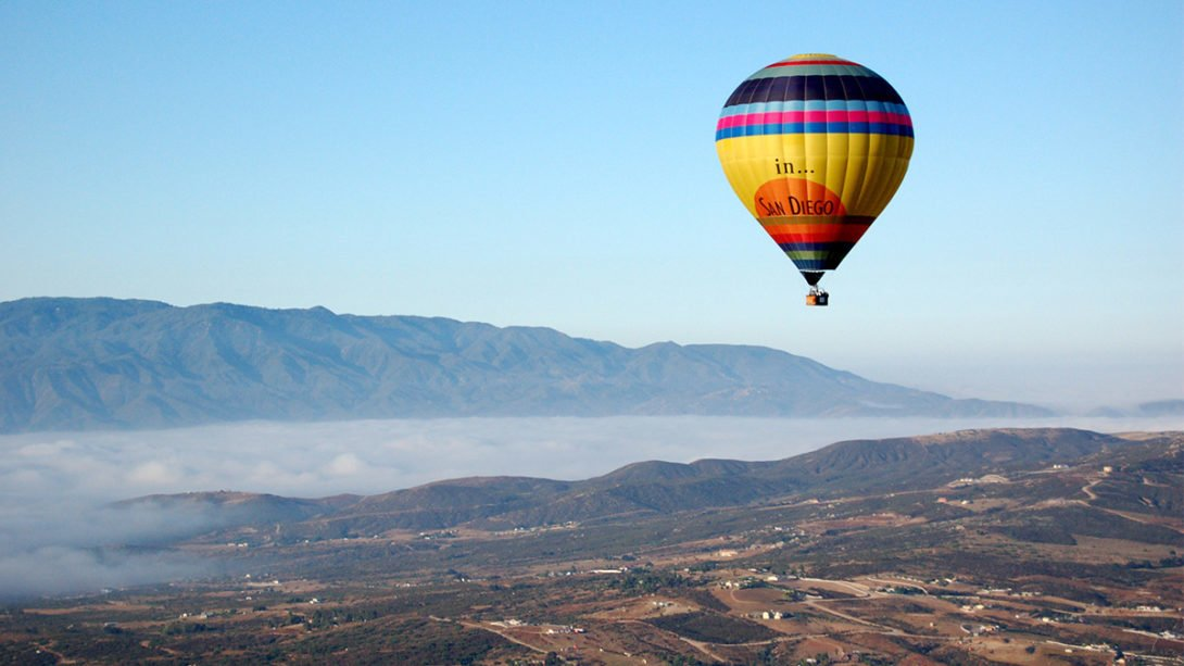 Temecula hot air balloon