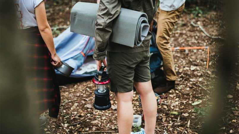 camping must-have list
