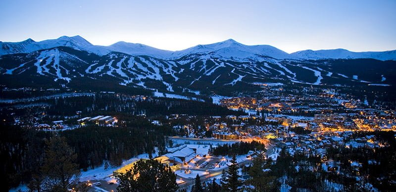 colorado winnter skiing resort