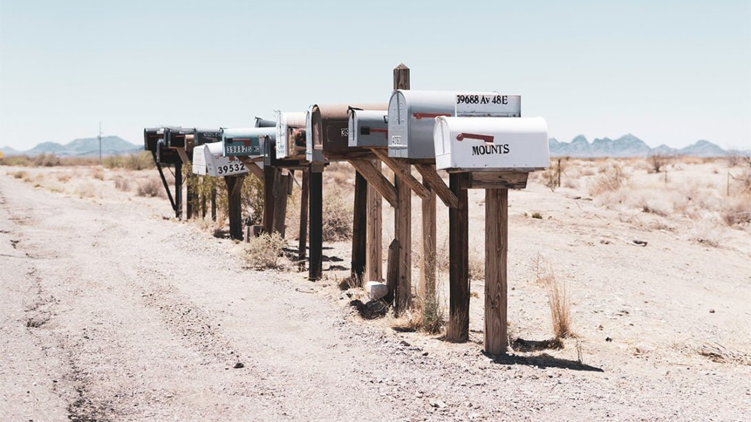 rv mail service